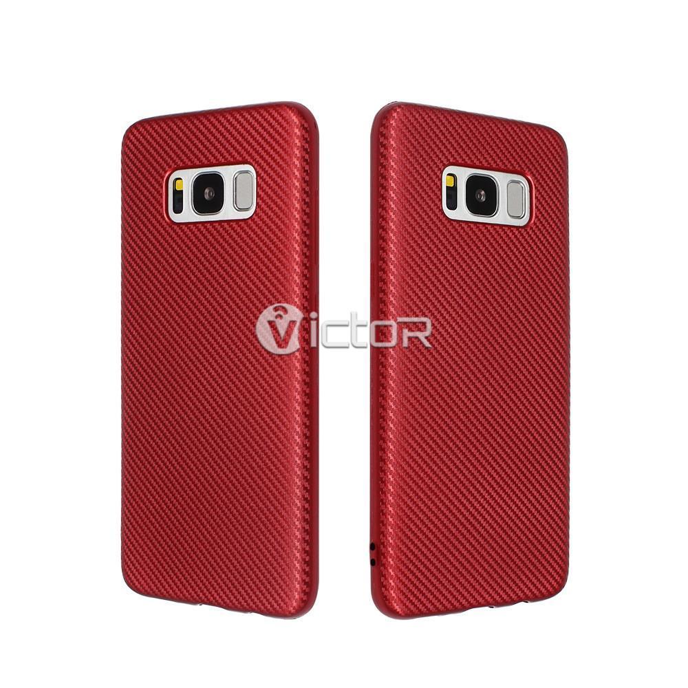 carbon fiber phone case - phone case for Samsung s8 - protective phone case -  (10)