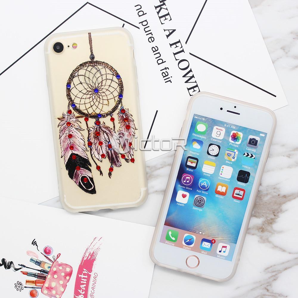 clear iphone 7 case - clear phone case - pretty phone cases - (2)