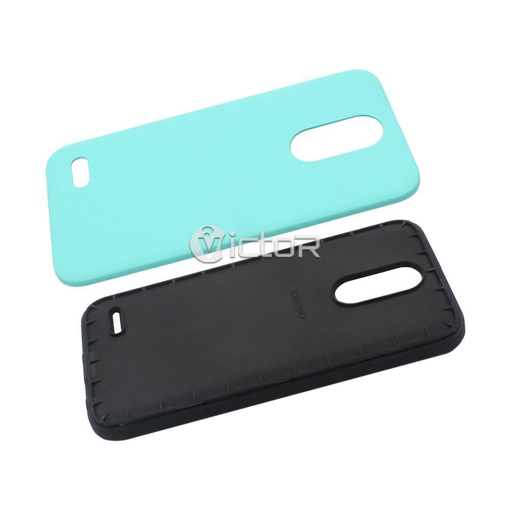 lg k10 2017 case - combo case - protective phone case - (2)
