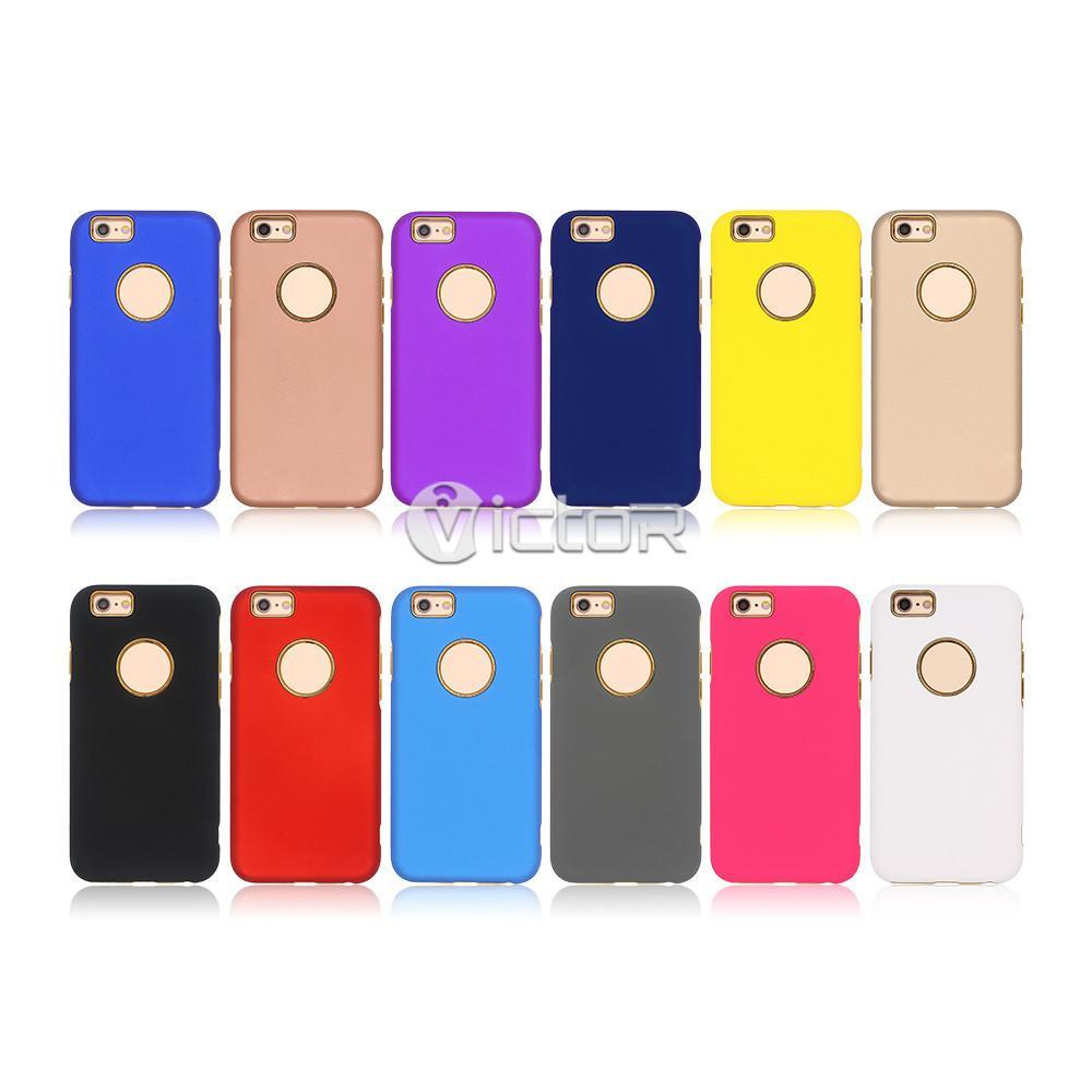 iphone 6 protective case - tpu phone case - combo case - (19)