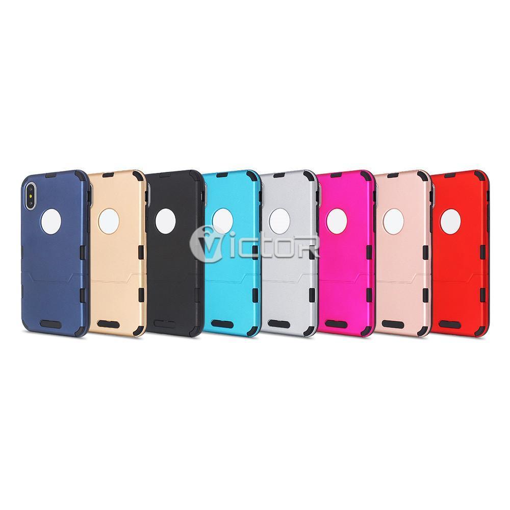 iphone x slim case - slim phone case - combo case -  (10)