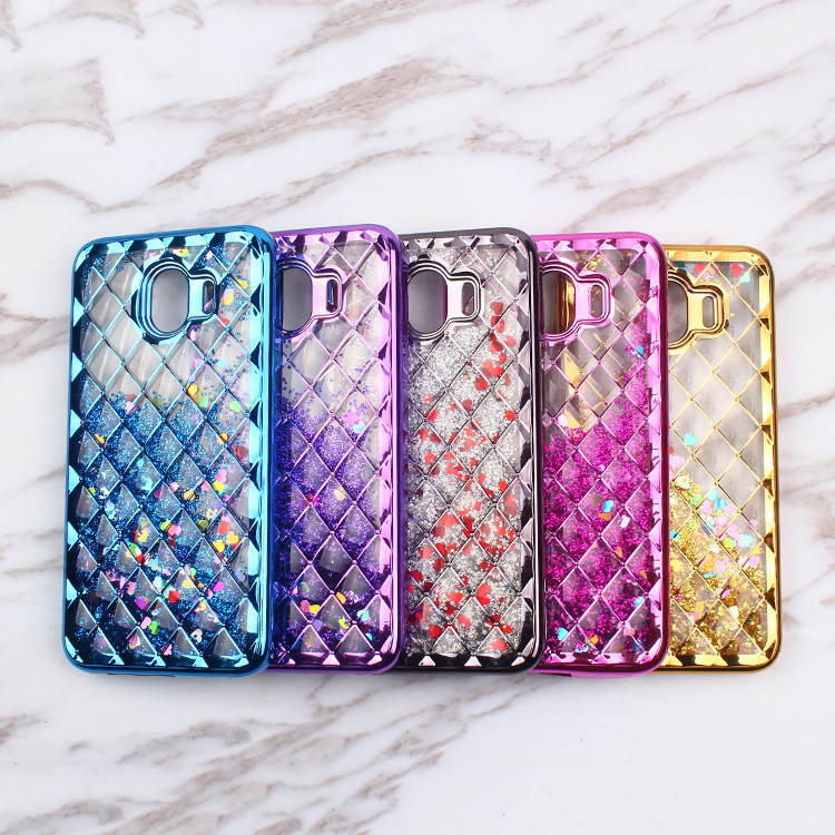 Bling Bling Liquid Sand Phone Case for Samsung J4