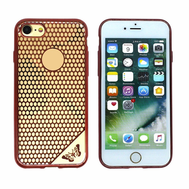 Victor Honeycomb Electroplating TPU Case for iPhone 7G