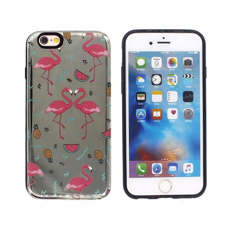 Electroplating Protective Combo Case for iPhone 6