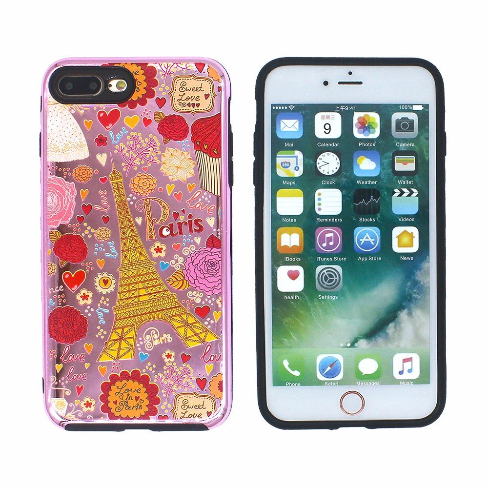 Victor Fashion Printing Hybrid Case for iPhone 7 Plus