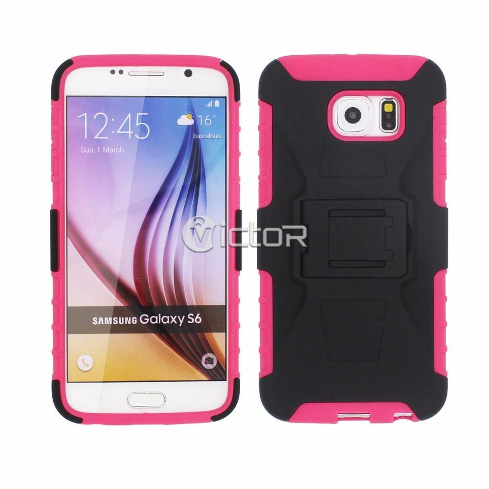 Victor Multifunctional 3in1 Kickstand Cases with Holsters for Samsung Galaxy S6