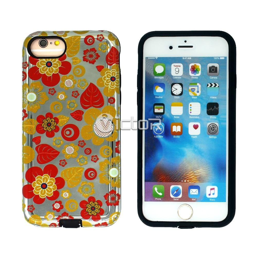 Victor TPU+PC Printing Pattern Phone Case for iPhone 6G