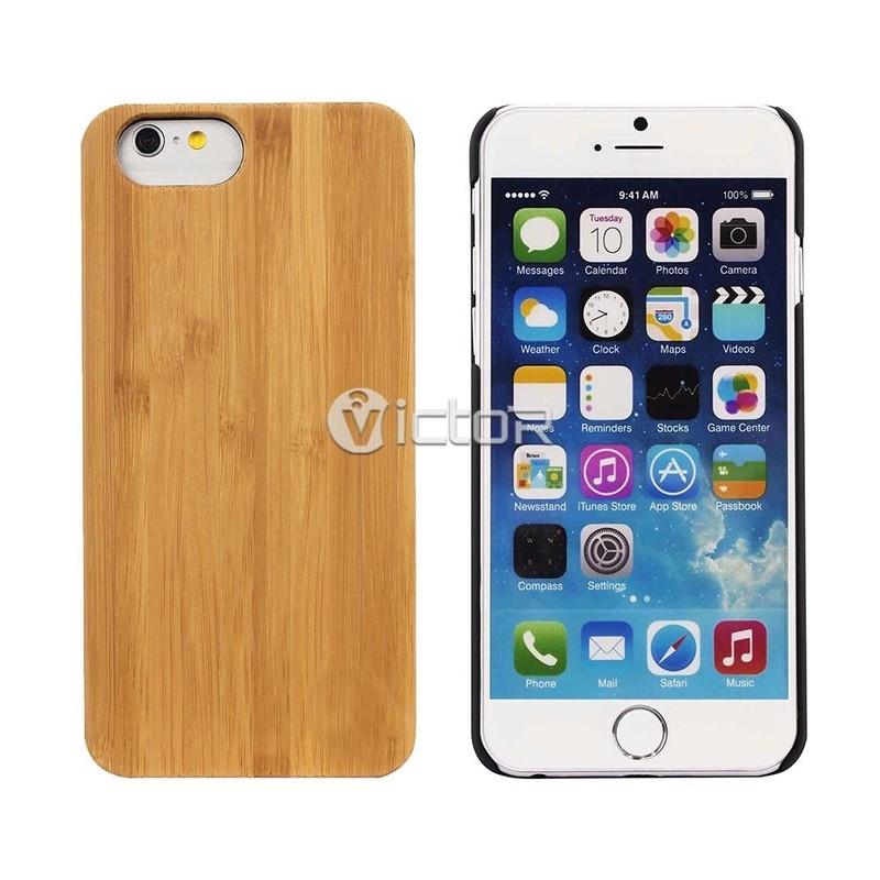 Victor VI-Madera-K013 caja de madera para el iPhone 7