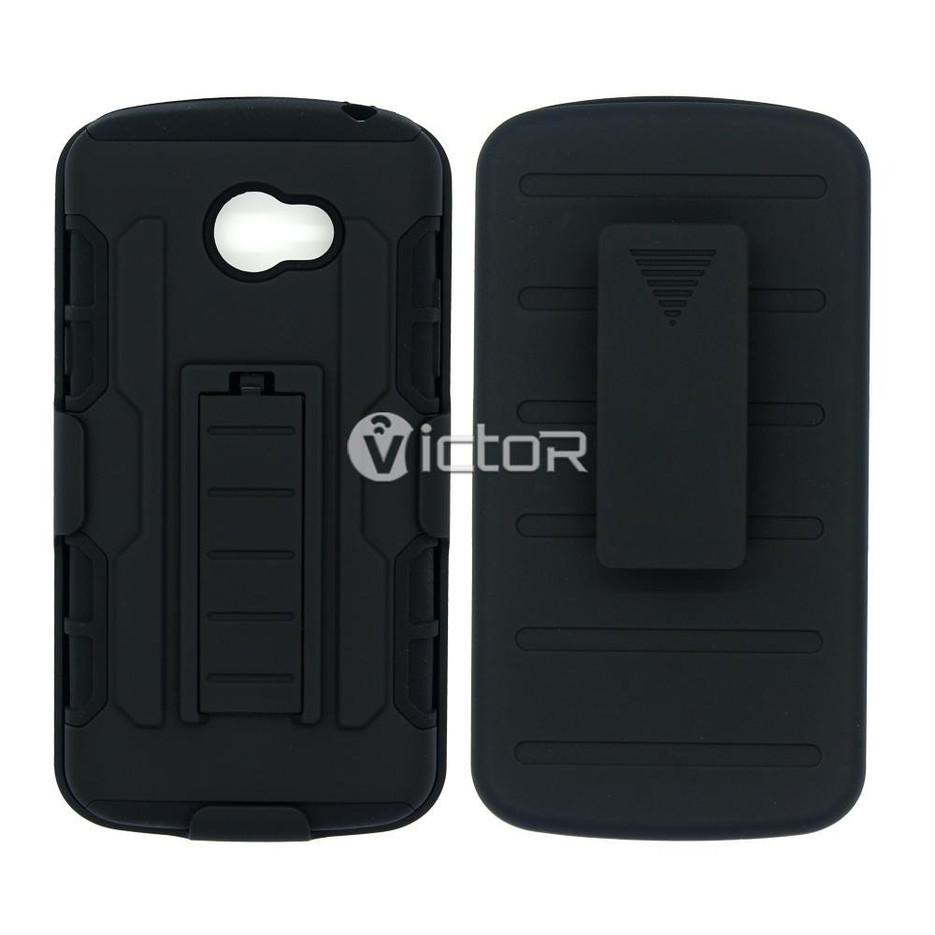 Victor 3in1 Robot Belt Clip Hybrid LG K5 Smartphone Case