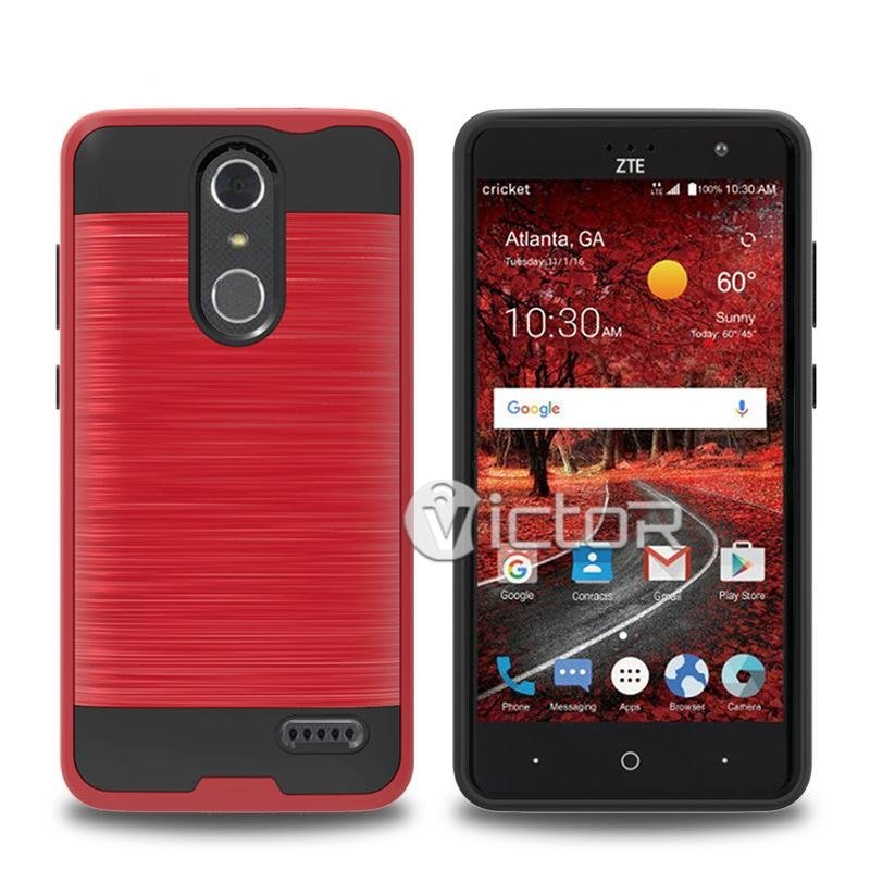 Victor TPU and PC ZTE Grand X 4 Mobile Phone Armor Cases