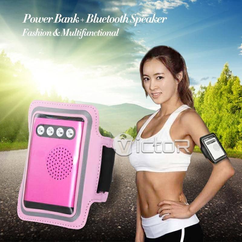 Victor  2IN1 Multi Functional Power Bank Bluetooth Speaker