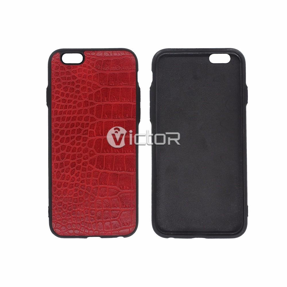 Victor Leather Back Cover iPhone 6 cases
