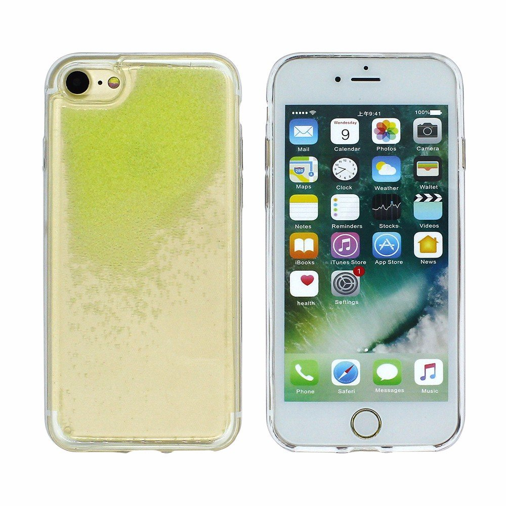 Victor Luminous Liquid Quicksand Phone Case for iPhone 7