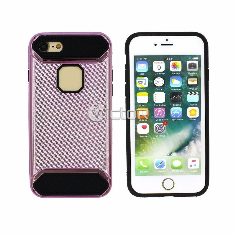 Victor 2in1 Electroplating iPhone 7 Cases for Wholesale