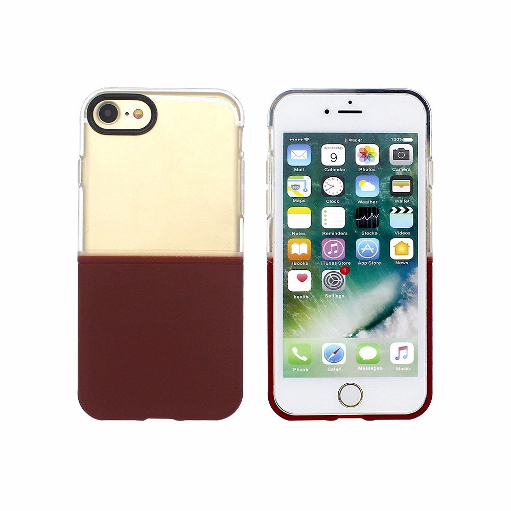 Victor 3in1 Half Clear TPU iPhone 7 Cases