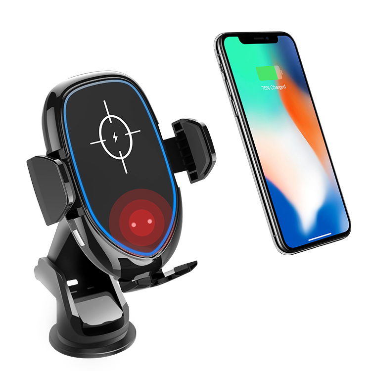 Wireless Car Charger with Rotating Phone Holder