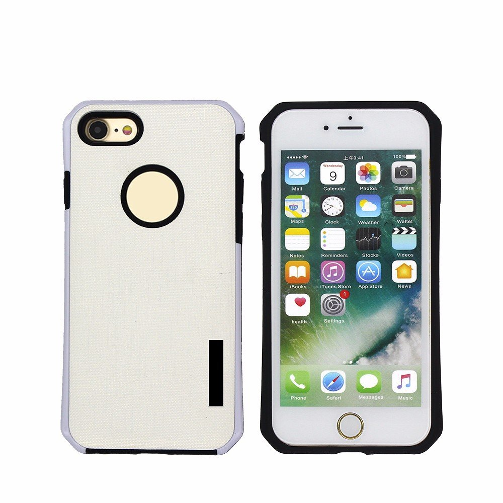 2in1 Cool Protective Leather iPhone 7 Case