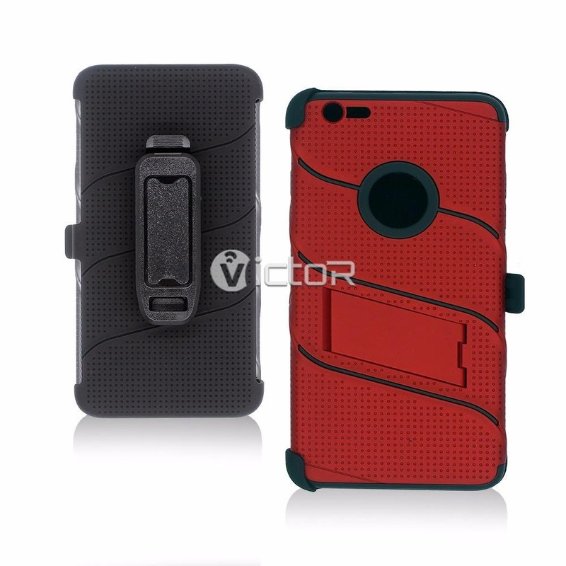 Victor fresco diseño multifuncional estuche protector para iPhone 7