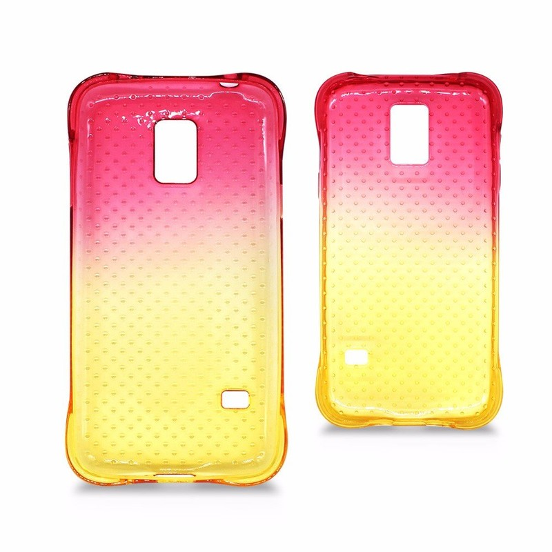 Victor Gradient Color Shockproof Slim TPU Case for Samsung Galaxy S5 mini