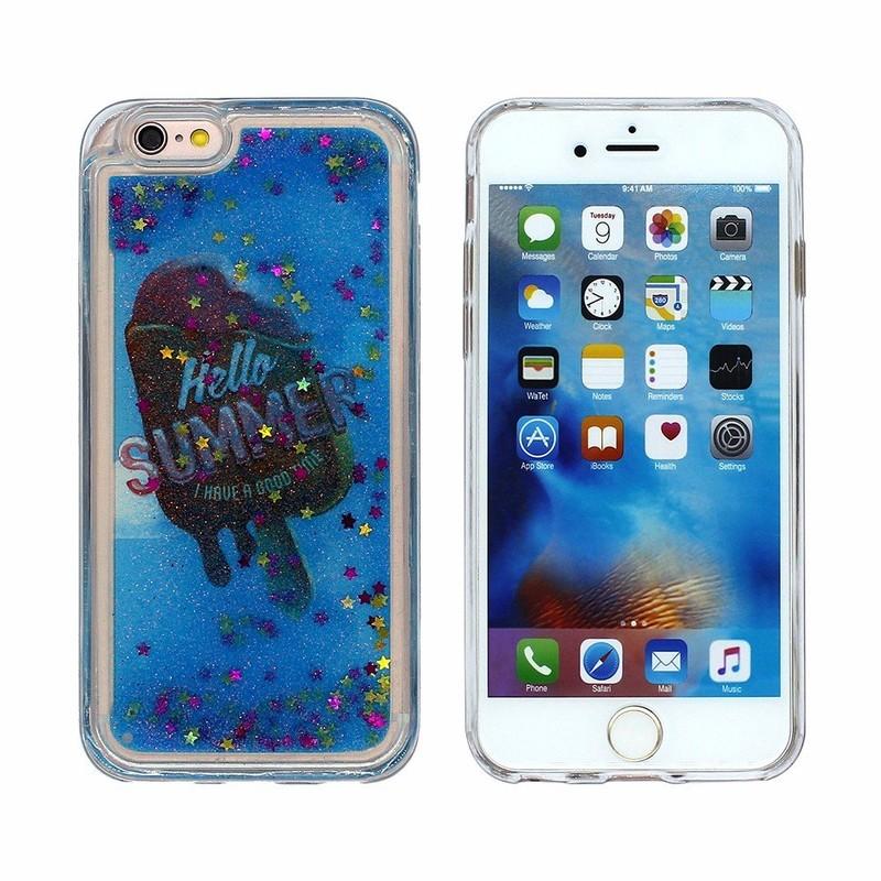 Victor realmente fresco y sorprendente iPhone 6 Liquid TPU casos