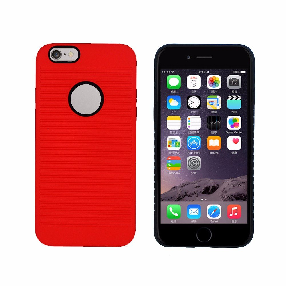 Victor Simple Design Hybrid Case for iPhone 6s