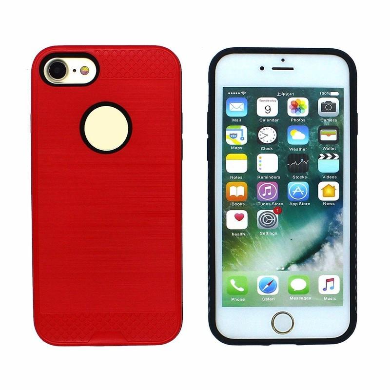 Víctor colorido láser caliente combinado caso del teléfono móvil para el iPhone
