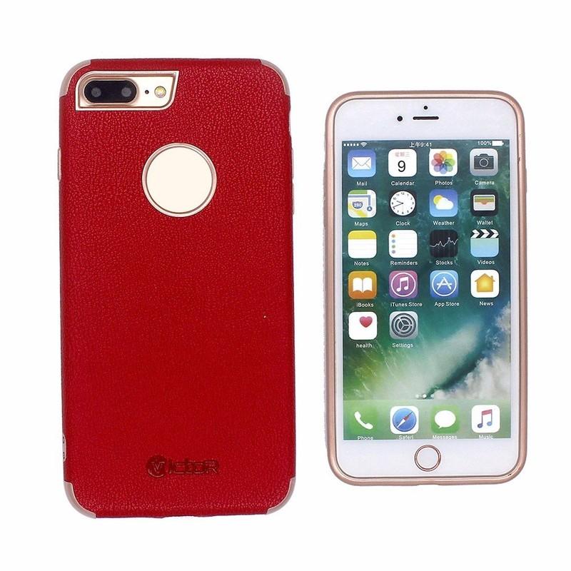Solo Color pasta cuero iPhone 7 más caso