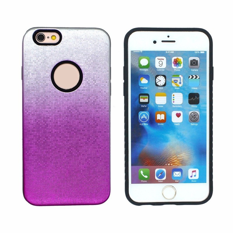 Victor 3D Pixel Protective Phone Back Covers Cases for iPhone 6S