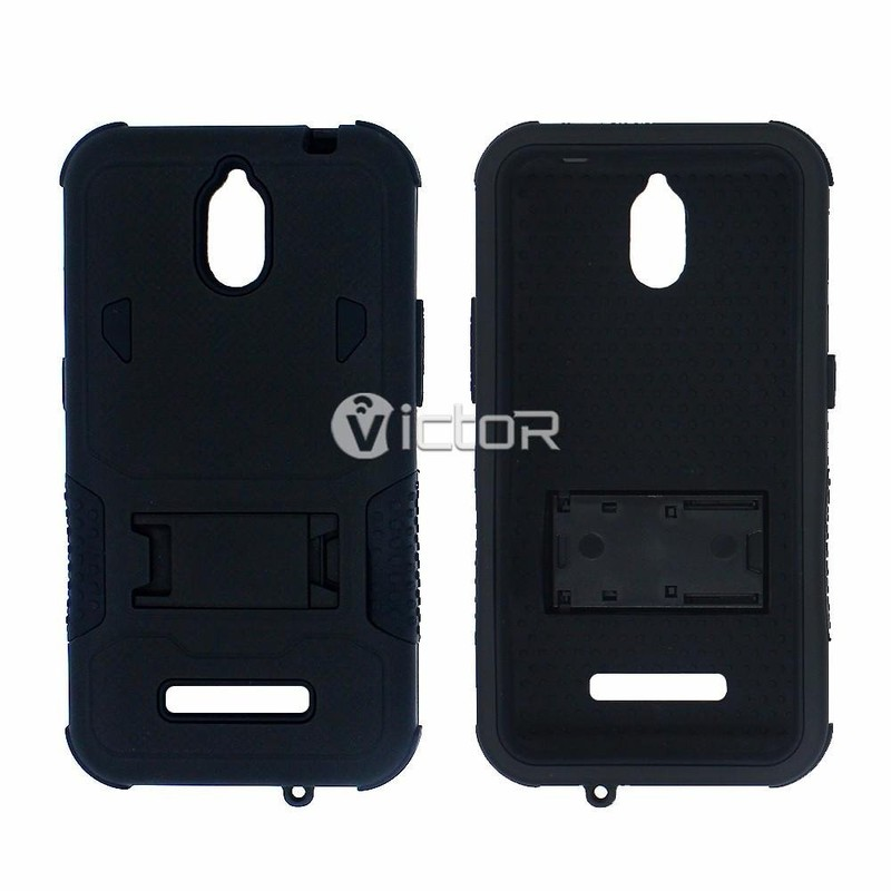 Victor Silicone PC Full Protector Heavy Robot Case for ZTE Z820