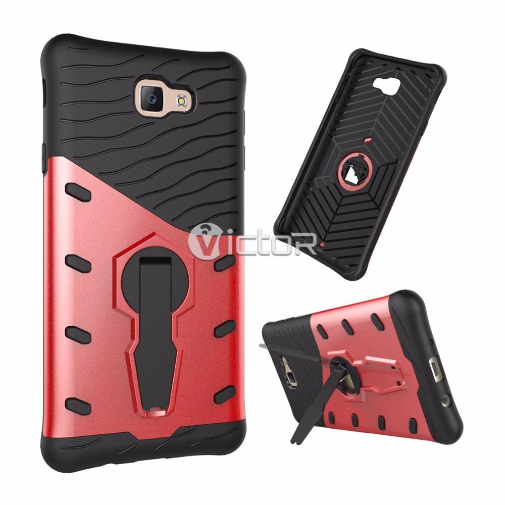 Victor 2in1 Bumper Strengthened Armor Case for Samsung J7