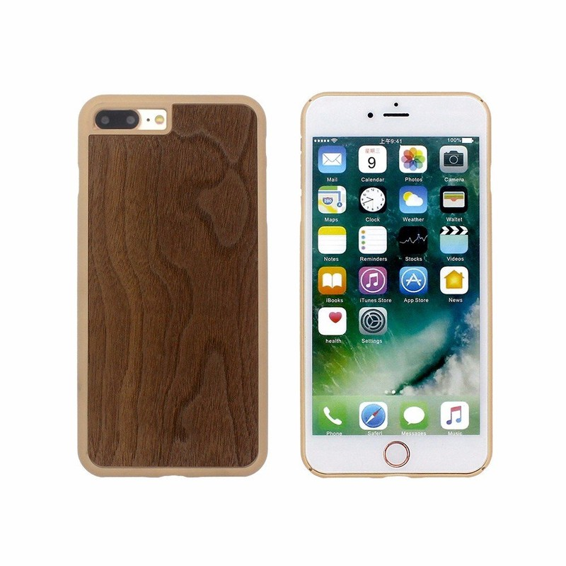 Victor PP iPhone 7 Case with Real Wood Back for Wholesale