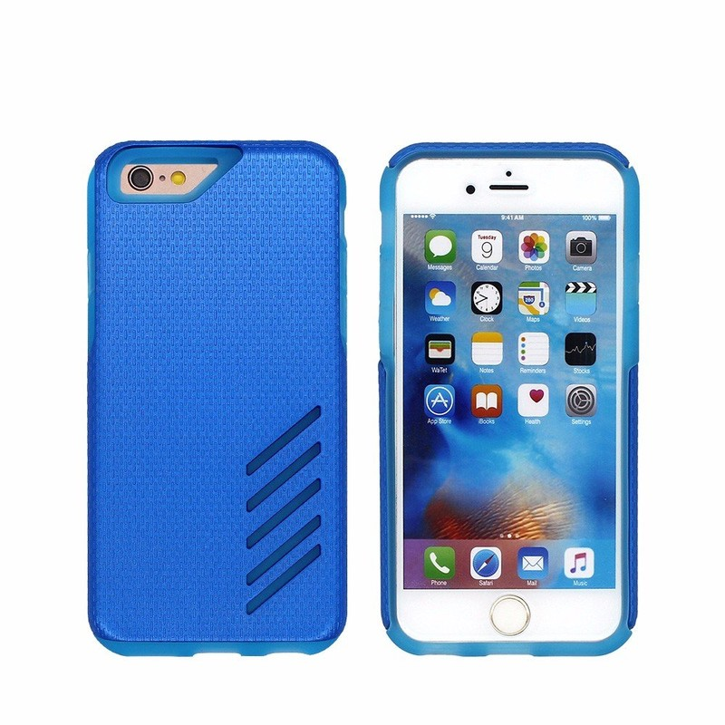 TPU Smartphone Protector Case for iPhone 6 with PC Cover
