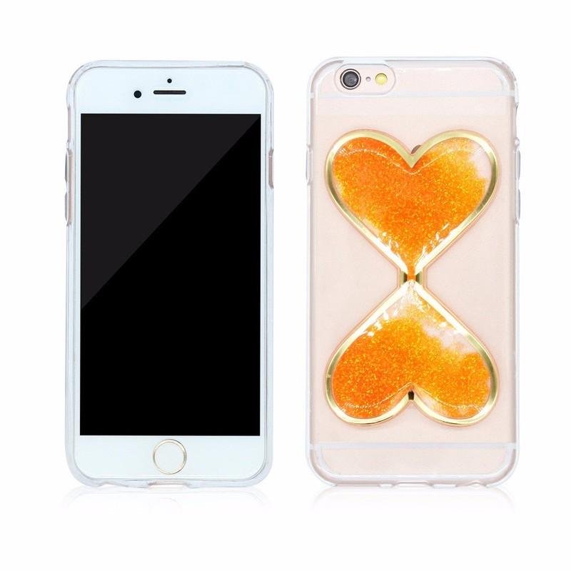 Victor Heart Theme Quicksand Case for iPhone 6s