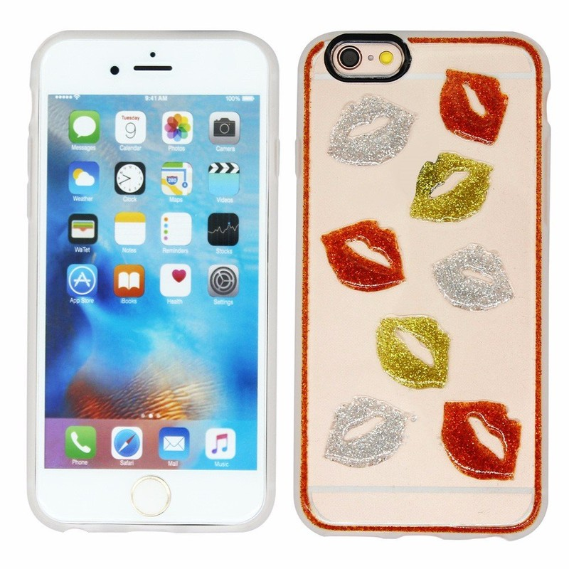 Victor 3D Glister Printing TPU Phone Case for iPhone 6