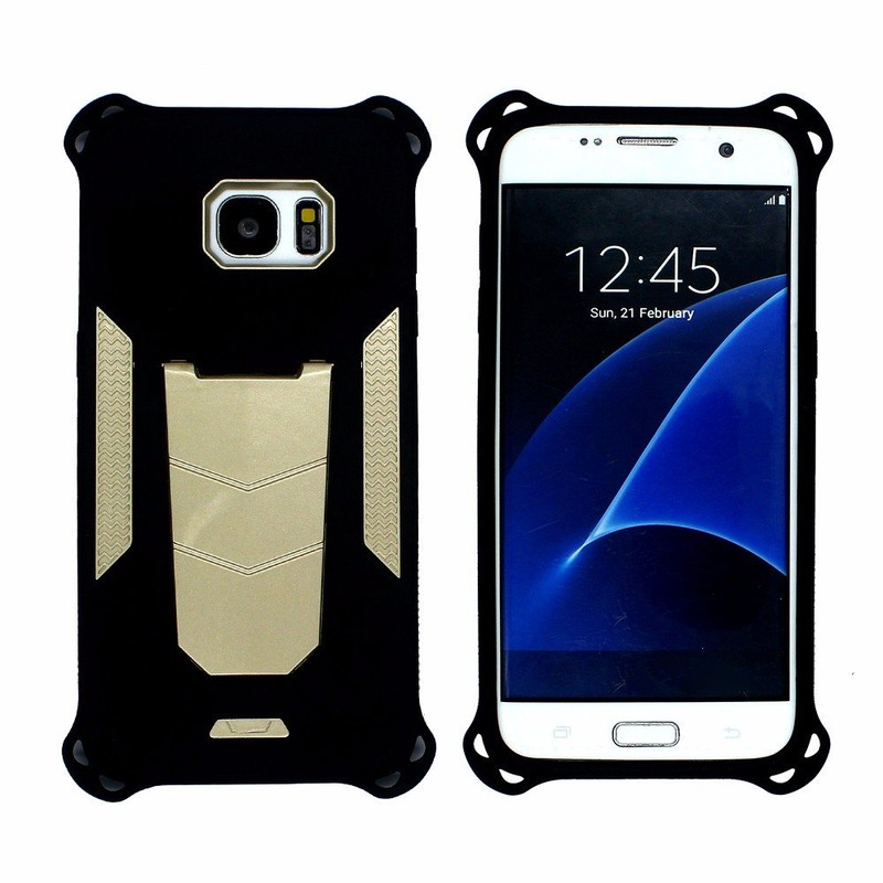 Victor  Cool Design Kickstand Case for Samsung S7 Edge