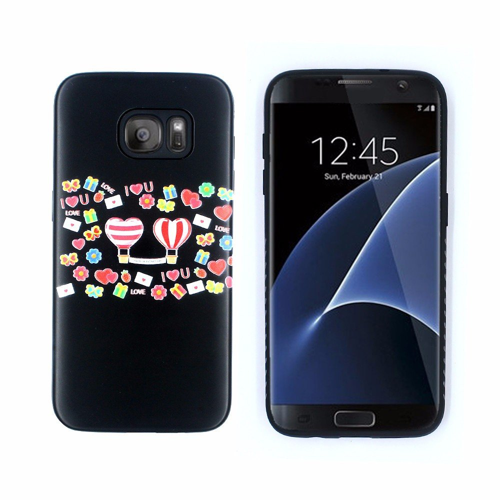 Victor Printing Embossed Best Cases for Galaxy S7 Edge