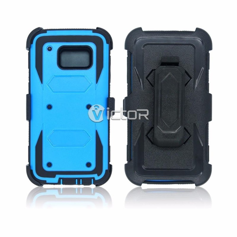 Victor 3IN1 Fully Protective Best Phone Case with Screen for Samsung Galaxy S7
