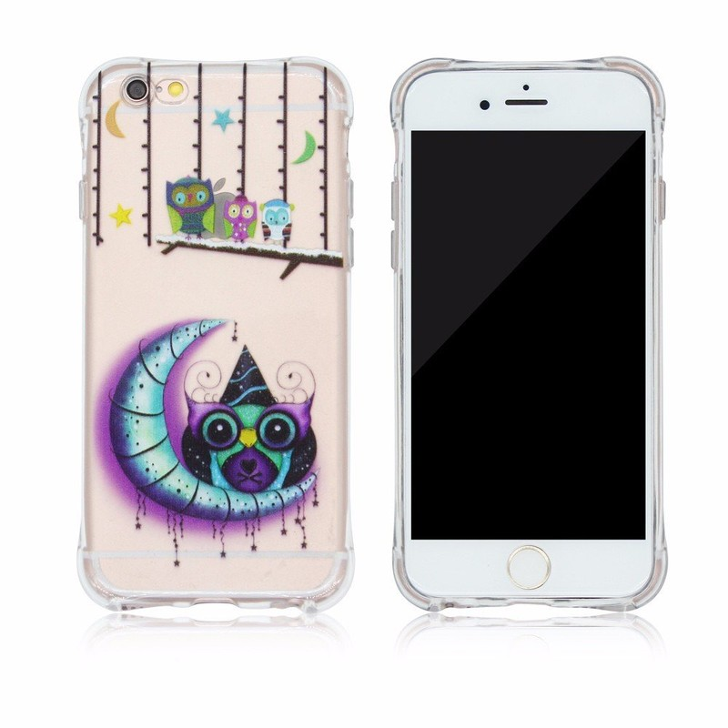Victor Ultra Slim Printing TPU Protective Phone Cases for iPhone 6s