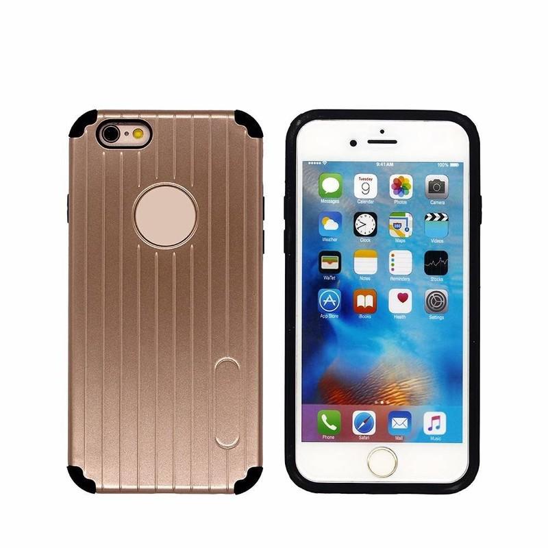 Maletín que siente el caso 2in1 TPU del iPhone 6 Smartphone