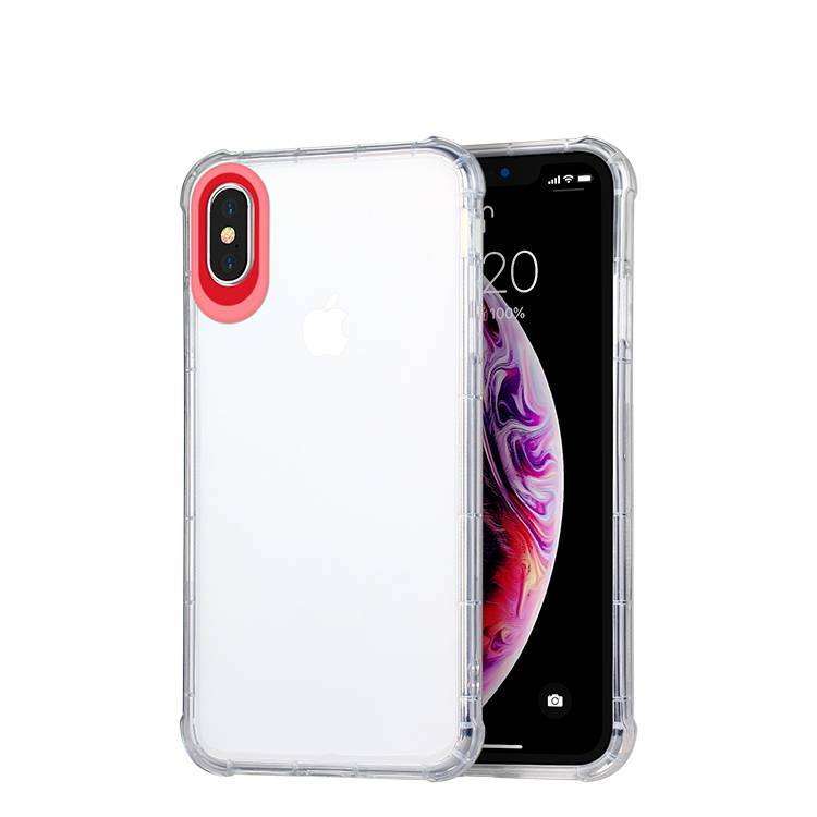 Soft TPU + PC camera protection case for IphoneX/Xs/Xsmax