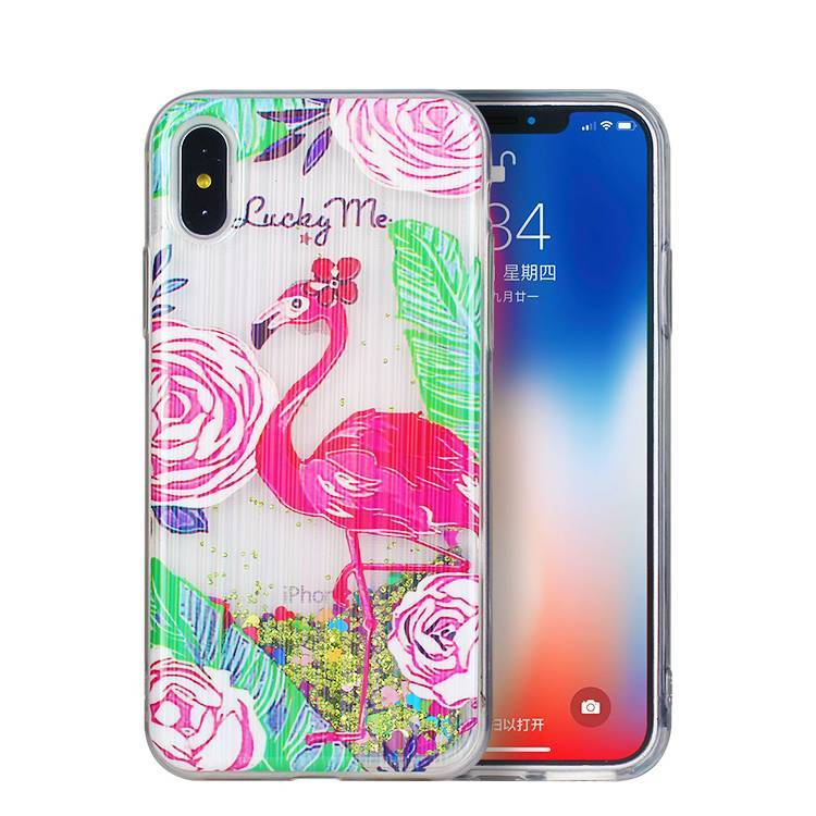 Color Painting TPU Liquid Case Wholesale
