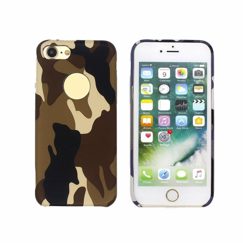 Camouflage Leather Phone Case for iPhone 7