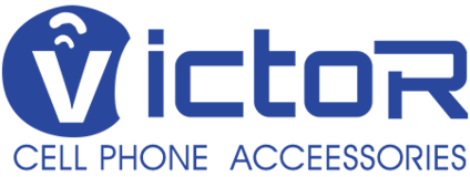 Logo of Victor Electronic - over 10 years phone case manufacturer and factory.