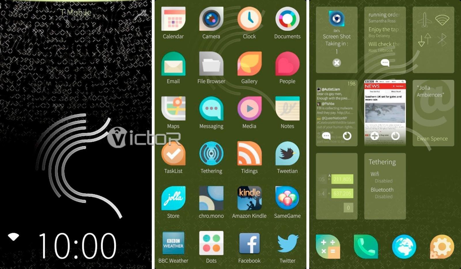 sailfish OS - sailfish operating system - phone operating systems - 1