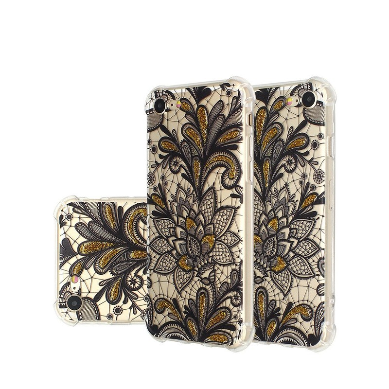 Beautiful Embossed TPU Case for iPhone 7