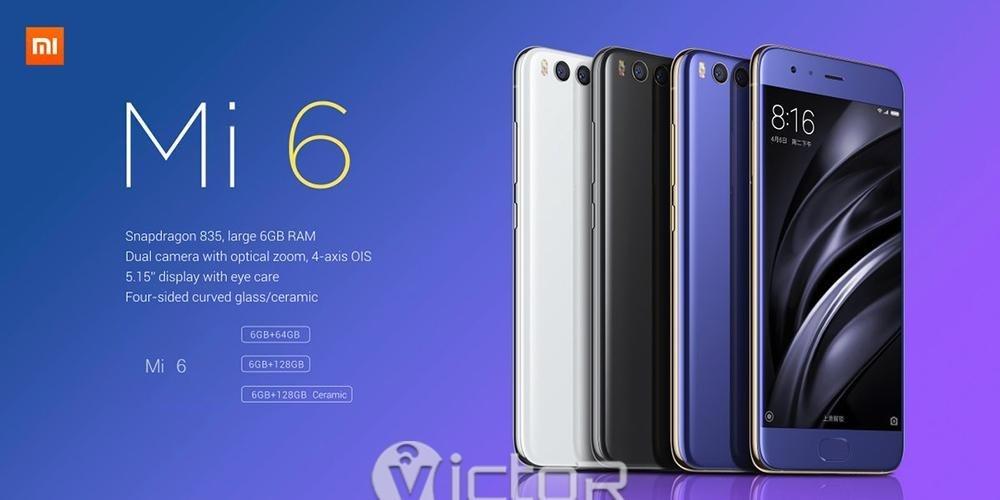 xiaomi mi6 smartphone - xiaomi smartphone - chinese smartphone - 1