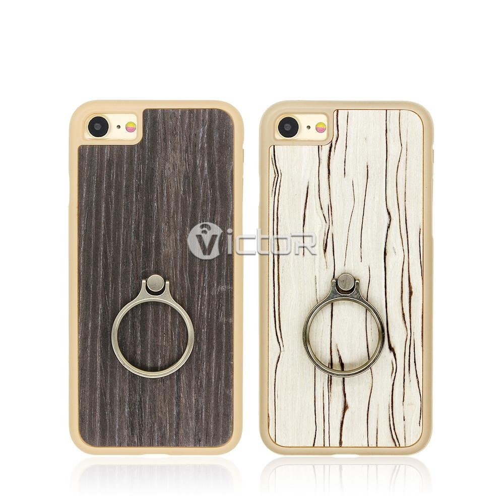plastic phone cases - phone case for iphone - case with ring - 1