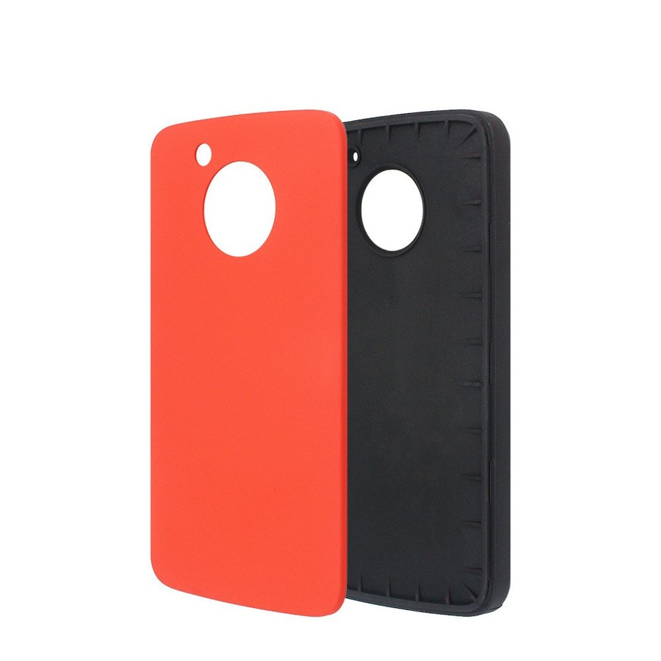 TPU Case for Moto G5 with Colorful PC Back Cover