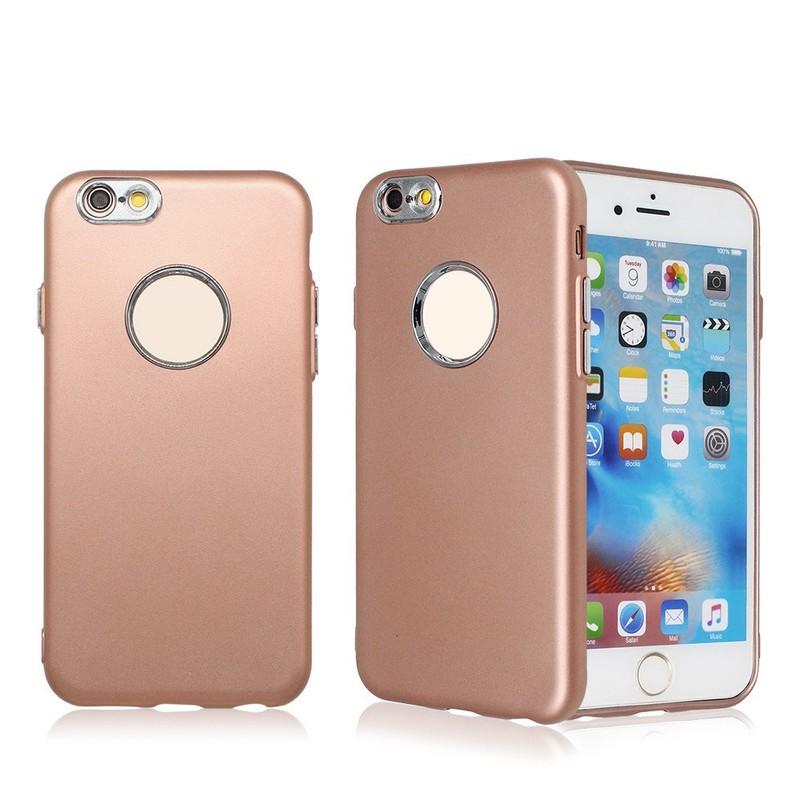 Rubberized Slim TPU teléfono caso para el iPhone 6