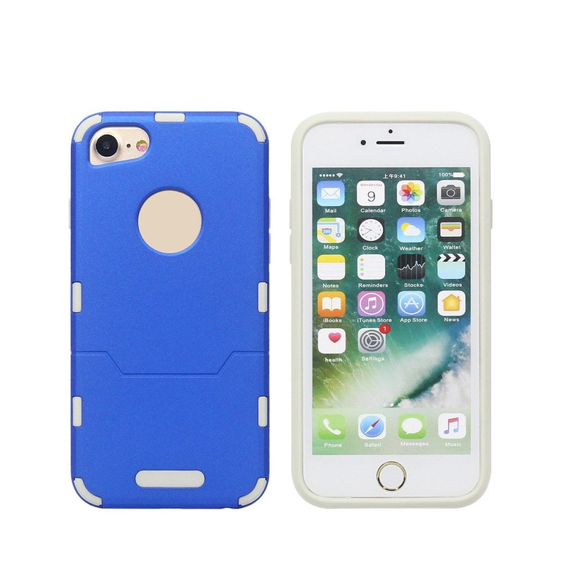 Cell Phone Cases with TPU Bumper Inside for iPhone 6 and 7